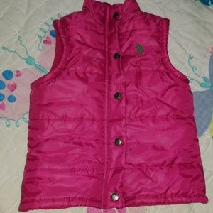 FLASH SALE!! Ralph Lauren vest sz 3T